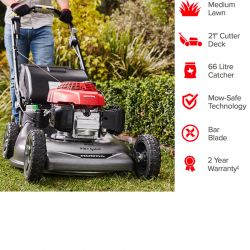 "21"" Honda HRR216K10VYUA Variable Speed Self Propelled Mower"